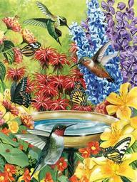 Hummingbird Garden-Puzzle