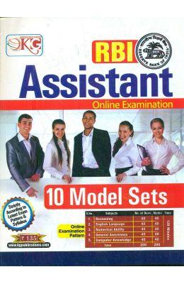 Rbi Assistant Online Examination 10 Model Sets : Code Kg388