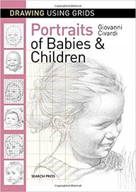 Drawing Using Grids : Portraits Of Babies & Children