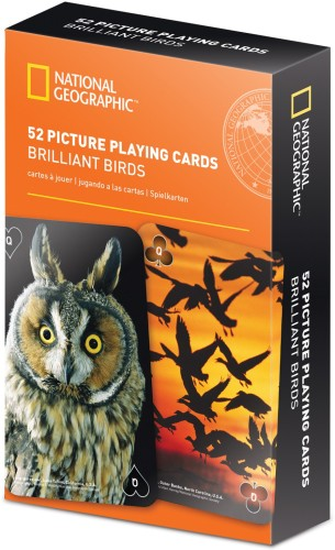 National Geographic 52 Picture Playing Cards-Brilliant Birds