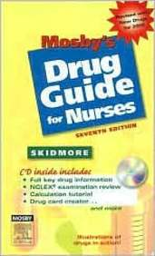 mosbys drug guide for nursing students with 2018 update