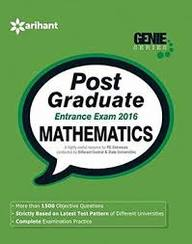 Mathematics Post Graduate Entrance Exam 2017 : Genie Series Code 1554
