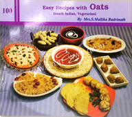 100 Easy Recipes With Oats : South Indian Vegetarian