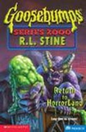 Return To Horrorland Goosebumps 13 Series 2000