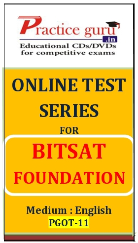 Online Test Series for BITSAT Foundation