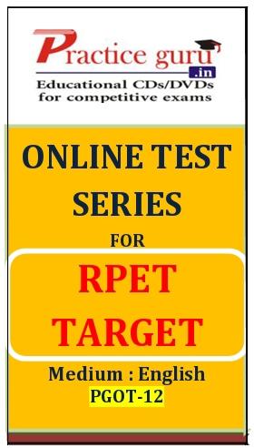 Online Test Series for RPET Target