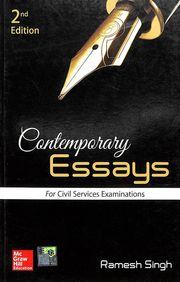 Contemporary Essays For Civil Services Examinaions