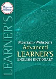 Merriam-Webster's Advanced Learner's English Dictionary Paperback