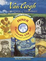 Van Gogh Paintings And Drawings Cd-Rom And Book (Full-Color Electronic Design Series)