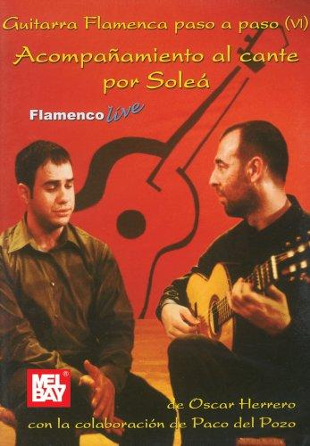Acompaamiento Al Cante Por Sole Vol, 6: Guitarra Flamenca Paso A Paso Vi