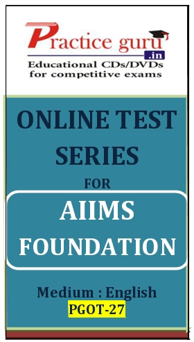 Online Test Series for AIIMS Foundation