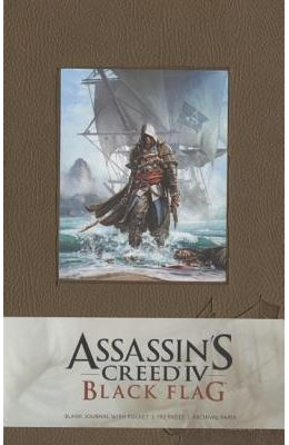 Assassin's Creed IV: Black Flag Hardcover Blank Journal Large