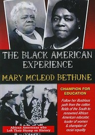 Mary Mcleod Bethune: Champion For Education: Social Studies