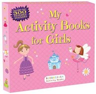 My Activity Books For Girls (box Set Of Five Titles)