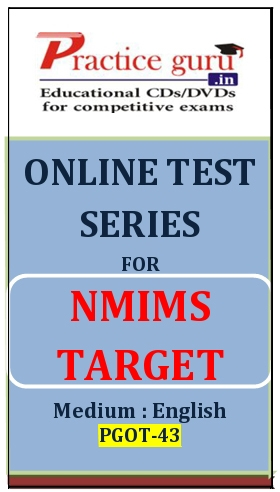 Online Test Series for NMIMS Target