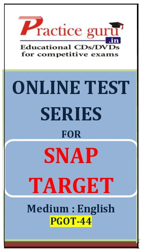 Online Test Series for SNAP Target