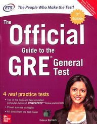 Official Guide To The Gre General Test  4 Real Practice Tests