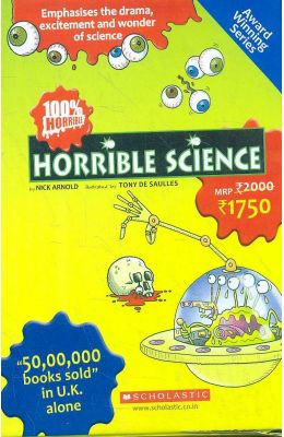 Horrible Science Set Of 8 Books
