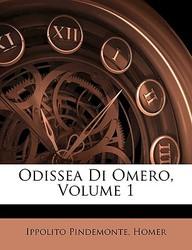 Odissea Di Omero, Volume 1