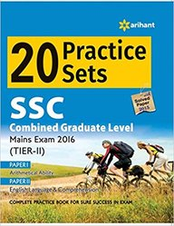 Ssc Combined Graduate Level Tier 2 Mains Exam 20 Practice Sets : Code J440