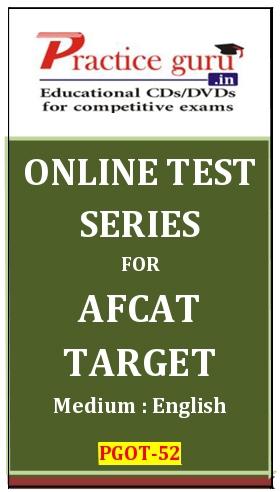 Online Test Series for AFCAT Target
