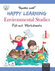 Together With Happy Learning Pullout Worksheets Environmental Studies For Class 1