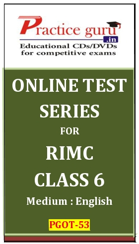 Online Test Series for RIMC Class 6