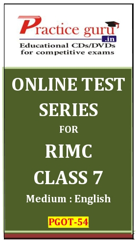 Online Test Series for RIMC Class 7