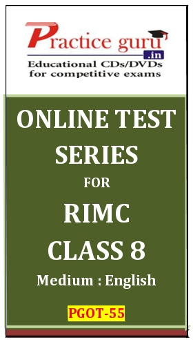 Online Test Series for RIMC Class 8