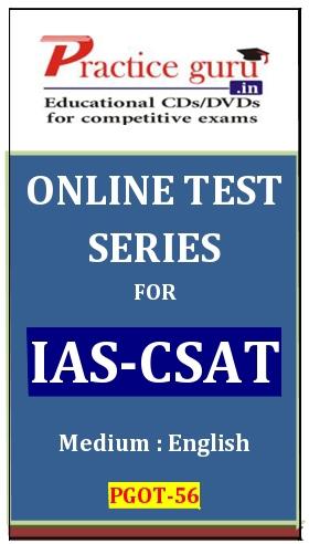 Online Test Series for IAS-CSAT