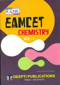 Eamcet Chemistry Vol 1: Junior Intermediate Syllabus With Hints & Solutions