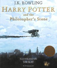 Harry Potter And The Philosophers Stone : Illustrated Edition