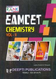Eamcet Chemistry Vol 2 : Senior Intermediate Syllabus With Hints & Solutions