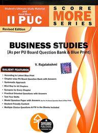 Business Studies 2 Puc Score More Series