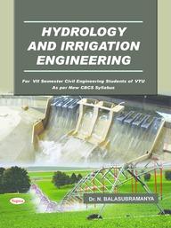 Buy Hydrology Irrigation Engineering For 7 Sem Civil Engineering