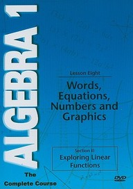 Words Equations Numbers, Graphs: Mathematics