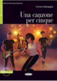 Una Canzone Per Cinque [With CD (Audio)] (Imparare Leggendo) (Italian Edition)
