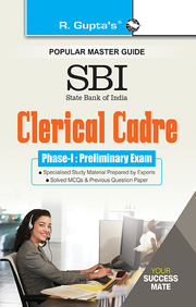 Popular Master Guide Sbi Clerical Cadre Phase 1 Preliminary Exam :  Code R974