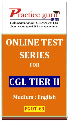 Online Test Series for CGL Tier II