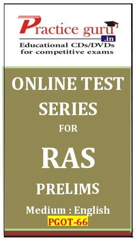 Online Test Series for RAS Prelims