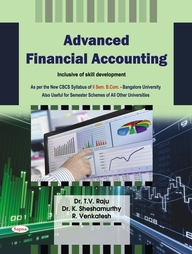 Advanced Financial Accounting For Bcom 2 Sem : Bu