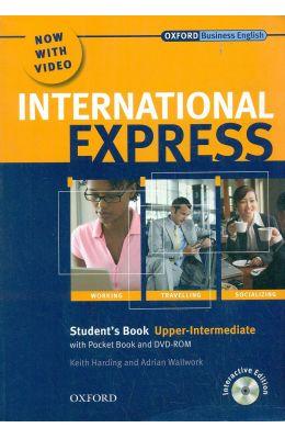 International Express Students Book Upper Intermediate W/Dvd