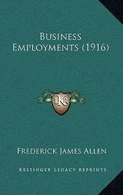 Business Employments (1916)