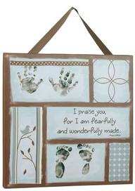 Baby Prints Canvas Hanging (Boy)