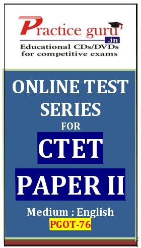 Online Test Series for CTET Paper II