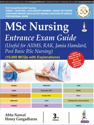 Msc Nursing Entrance Exam Guide - Useful For Aiims Rak Post Basic Bsc Nursing