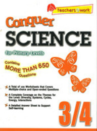 Conquer Science For Primary Levels 3-4