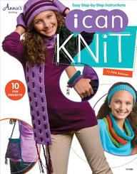 I Can Knit : Easy Step By Step Instructions