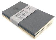 Black , Blue and Beige Paper Fibre Series Slim Book