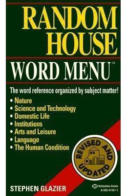 Word Menu Random House